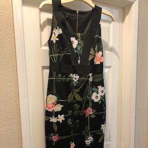 Ted Baker size 2 bodycon dress. Never worn.